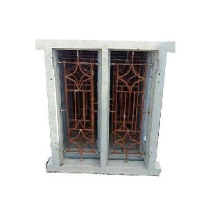 Precast Iron Cement Window