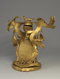 Brass Family Crest 01