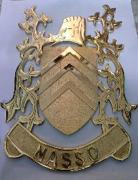 Brass Family Crest 02
