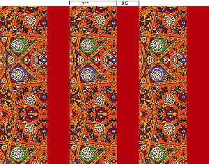 Border Print Fabric