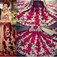 Bridal Lehenga Choli Dress Material