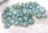Blue Moissanite Diamond 02
