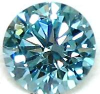 Blue Moissanite Diamonds