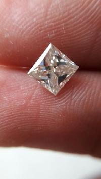 Princess Cut Moissanite Diamond 01