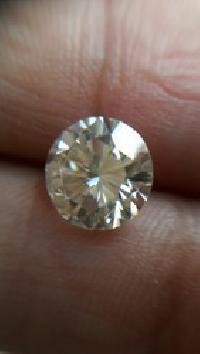Off White Moissanite Diamond 01