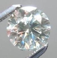 Off White Moissanite Diamond 06