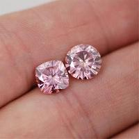 Pink Moissanite Diamonds