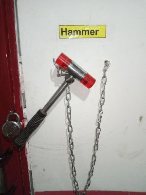Extinguisher Glass Break Hammer