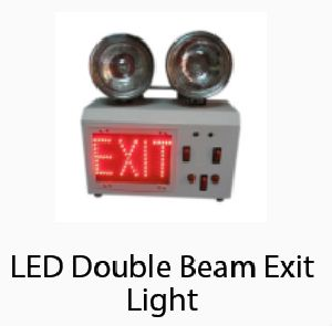 LED Double Beam Exit Light