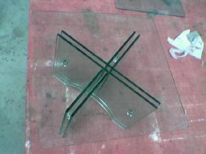 Bent Glass Tables