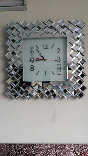 Glass Wallclocks