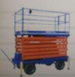 Aluminium Scissor Lift Trolley