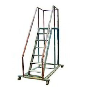 Aluminium Trolley Ladder