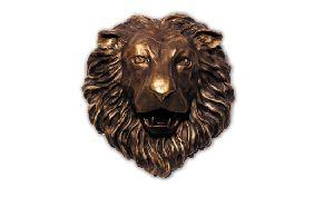 Lion Face Sculpture 01