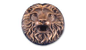 Lion Face Sculpture 02