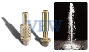 Aerator Effect Fountain Nozzle