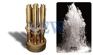 Cluster Jet Aerated Effect Fountain Nozzle