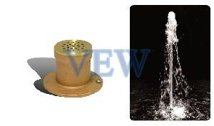Flush Jet Cluster Fountain Nozzle