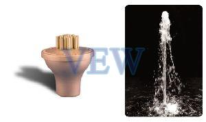 Jet Cluster Fountain Nozzle