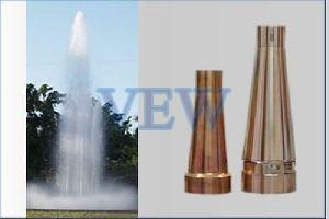 Single Jet Aerated Effect Fountain Nozzle