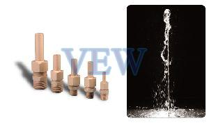 Single Fountain Nozzle With Ball Joint
