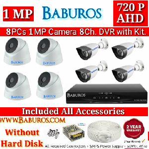 8P1M8C AHD CCTV Camera Kit