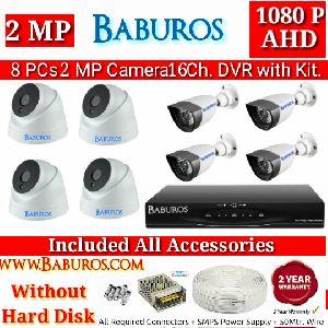 8P2M16C AHD CCTV Camera Kit