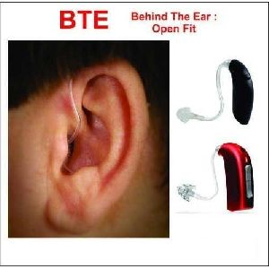Behind The Ear Open Fit Hearing Aids