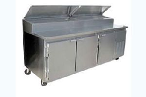 Cold Bain Marie With Under Counter Refrigerator