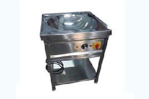 Stainless Steel Kadai Deep Fryer