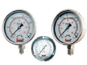 Industrial Heavy Duty Liquid Filled Pressure Gauges
