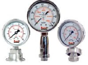 Sanitary Process Connection Diaphragm Sealed Pressure Gauges