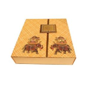 Double Door Wedding Invitation Box