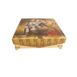 Radha Krishna Printed Wedding Invitation Box