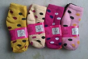 Ladies Terry Ankle Socks