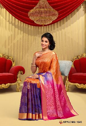 Pure Kanchipuram Silk Sarees