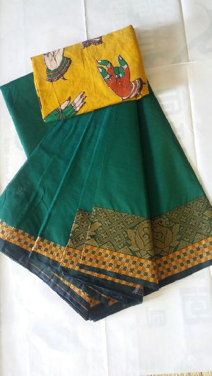 Wonderful Chettinad Cotton Sarees Collections