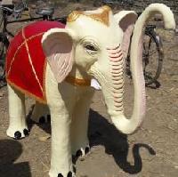 Elephant Statue 01