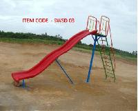 Playground Wave Slides