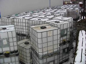 White IBC Container