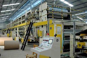3 Ply Automatic Paper Corrugation Plant