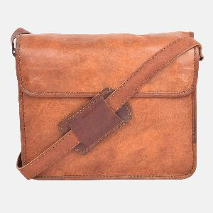 "11"" Small Leather Handmade Shoulder Bag"