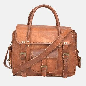 """12"""" Ladies Leather Briefcase And Shoulder Bag"""
