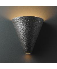 Hammered Wall Light 02