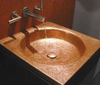 Copper Wash Basin 03