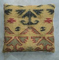 Jute Wool Durry Cushion