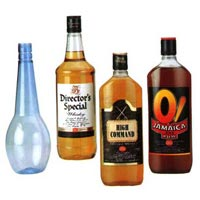 Liquor PET Bottles
