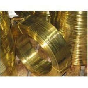 Brass Zipper Wire