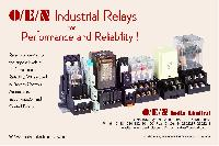 Industrial Relays - Panel Mountable type