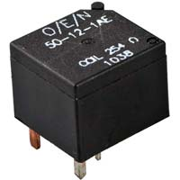 Low Profile Automotive Power Relay